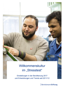 "Willkommenskultur im ""Stresstest"""