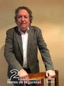 Jaume Bosch, coordinador de projectes transversals i d'impuls d'accions formatives de l'Institut de Seguretat Pública de Catalunya (ISPC)